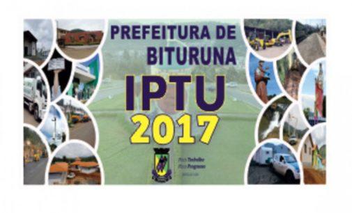 Prefeitura de Bituruna orienta população sobre IPTU