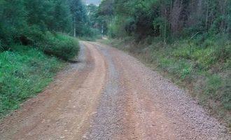 Setor de Obras de Bituruna já recuperou 80 km de estradas