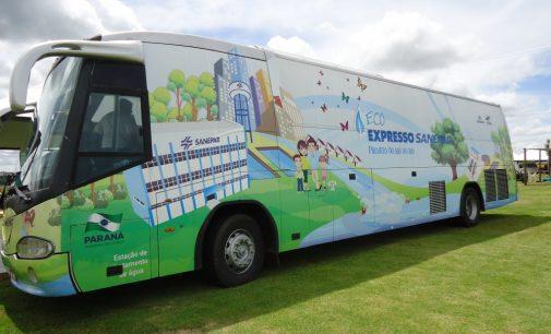 Ônibus EcoExpresso da Sanepar vem para Bituruna