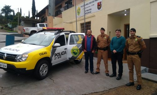 Polícia Militar de Bituruna recebe nova viatura