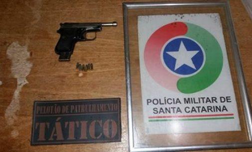 Assaltante é preso pelo PM de Porto União