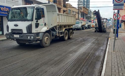 Dnit continua a revitalização da avenida Manoel Ribas