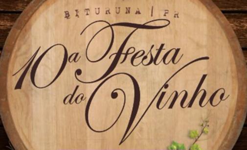 Venda dos ingressos para a 10ª Festa do Vinho se inicia sábado