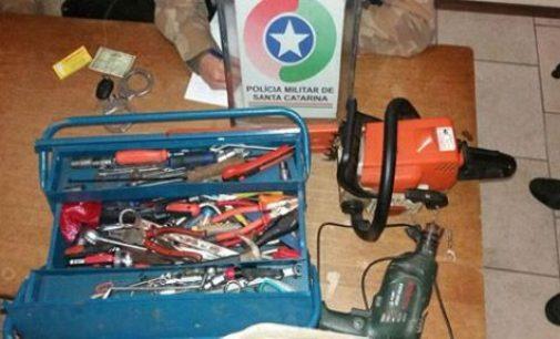 Homem é detido por furto em Porto União