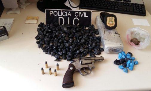 Homem é preso por tráfico de drogas em Irineópolis