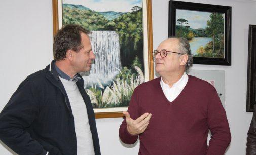 Secretário Estadual da Saúde de SC visita Porto União