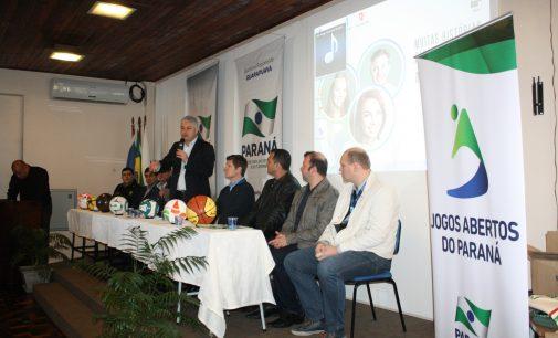 60° Jogos Abertos do Paraná será em União da Vitória