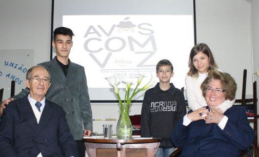 """""""Avós com Voz"""" recebeu o casal Silva nos 100 anos de PU"""