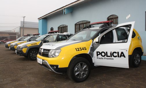 27º BPM repassa novas viaturas aos municípios