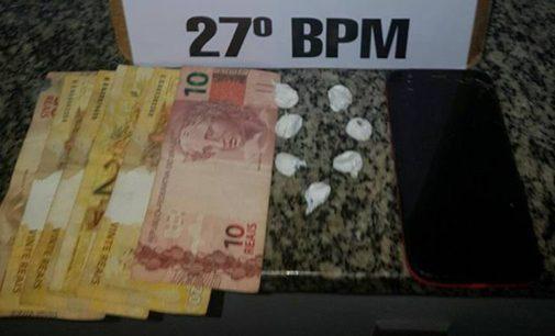 PM faz duas apreensões de drogas em União da Vitória