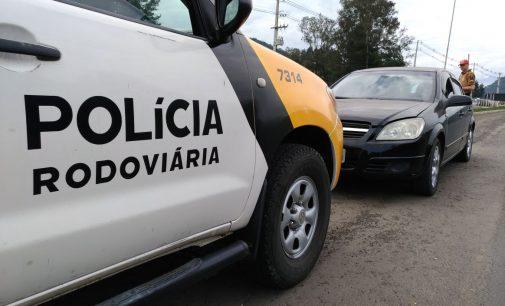 Três indivíduos são apreendidos por roubo em Paula Freitas