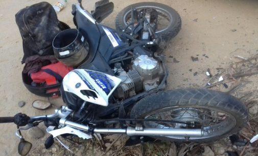 Duas pessoas ficam feridas em acidente na PR 447