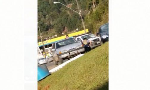 PM troca tiros com bandidos em Bituruna