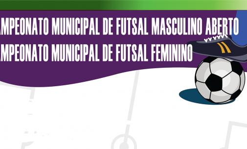 Bituruna promove Campeonato de Futsal feminino e masculino