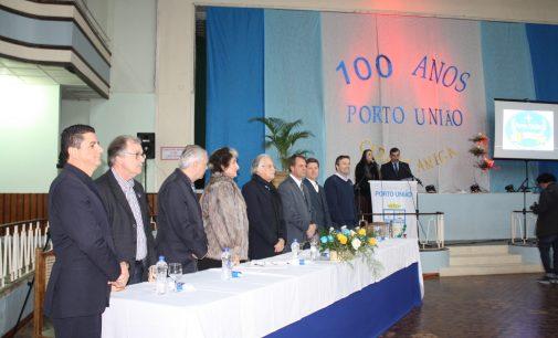 Porto União lança as atividades dos 100 anos do município