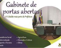 """Projeto """"Gabinete de Portas"""", será lançado em Bituruna"""