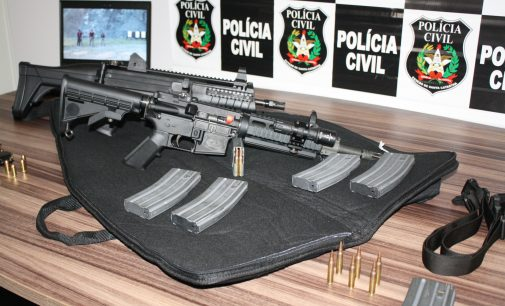 Polícia Civil de PU recebe duas novas armas
