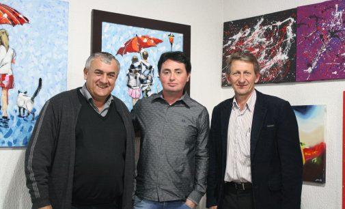 """Paulo Frontin recebe o """"Arte Solidária"""" em grande estilo"""