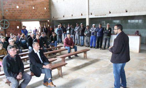 Três comunidades de Bituruna receberam melhorias