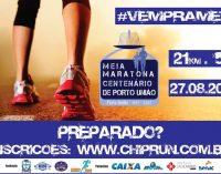 Domingo, em Porto União, ocorre a Meia Maratona Centenário