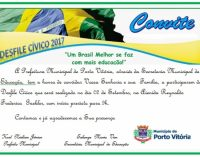Porto Vitória antecipa desfile cívico do dia 07 de setembro