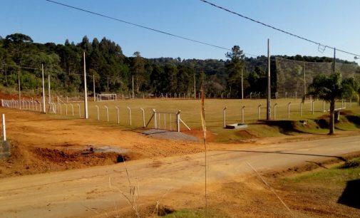 Campo em Santo Antônio do Iratim ganha alambrado