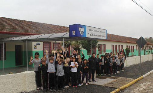 Escolas de PU recebem melhorias da ADR de Canoinhas