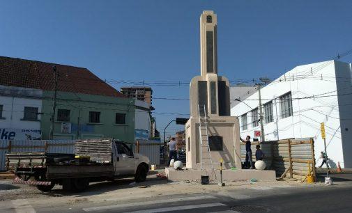 Monumento dos 100 anos de PU está sendo finalizado