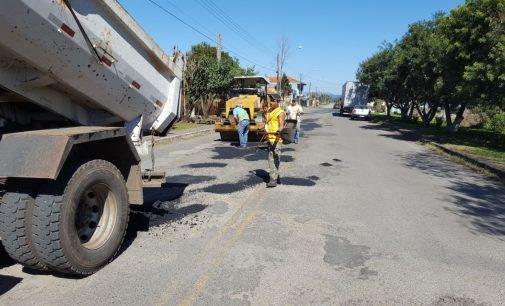 Prefeitura de UVA dá início a Operação Tapa Buracos em São Cristóvão