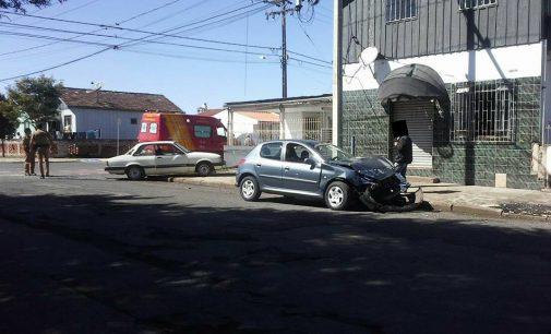 PM registra acidente no bairro São Bernardo em UVA