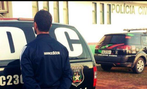 Polícia Civil prende homem pelo crime de lesão corporal grave