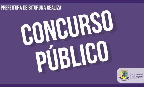 Prefeitura de Bituruna abre Concurso Público