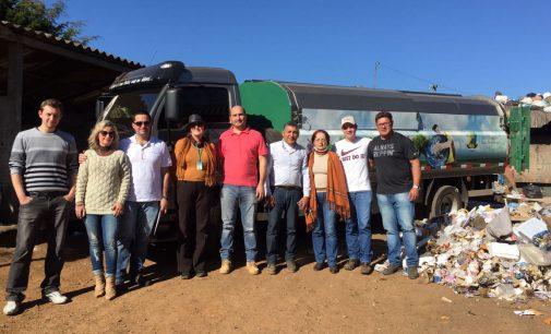 Procurador de Justiça de Mato Grosso do Sul visita o Reciclinho