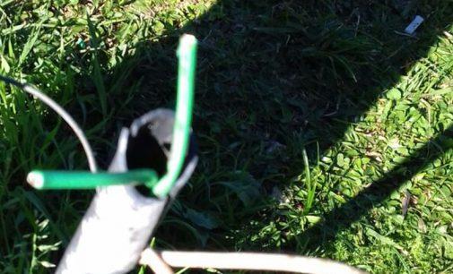 Morro do Cristo de UVA, tem fios elétricos furtados
