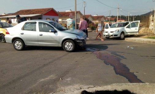 Ocorre acidente de trânsito em Conjunto de União da Vitória