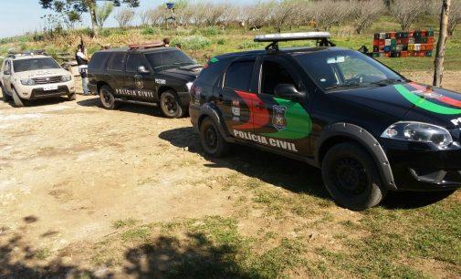 Polícia Civil e Militar realizam operação em Matos Costa