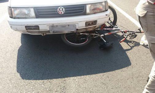 Corpo de Bombeiros atende acidente de trânsito em UVA