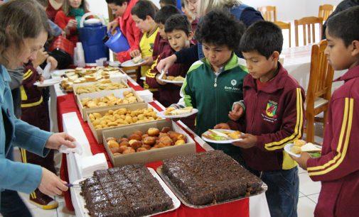 Bituruna realiza café da manhã especial para alunos