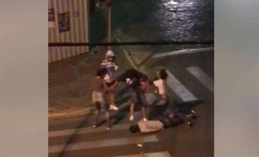 Jovem é agredido na cidade de Porto União