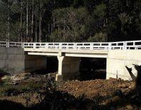 Ponte sobre o Rio do Meio será inaugurada dia 16