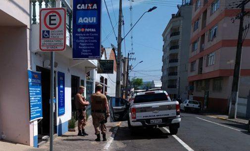 Correspondente da Caixa é assaltada em Porto União