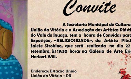 """Abre nessa sexta-feira em UVA, a exposição """"Religiosidade"""""""