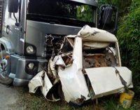 Homem natural de Cruz Machado morre em acidente na BR 280
