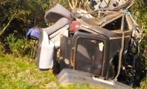 Morador de Bituruna morre em acidente na PR 170