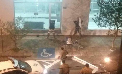 PM de Porto União detém dois por furto de bicicleta