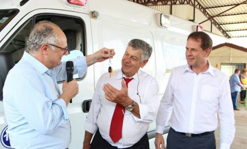 Porto União recebe Ambulância do Governo de SC