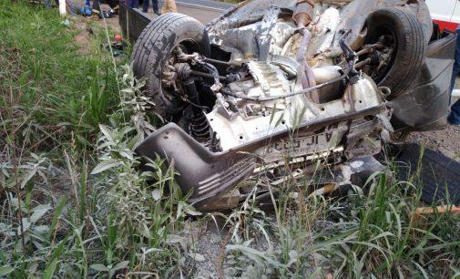 Acidente de trânsito na BR 280 deixa quatro feridos
