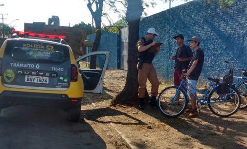 """Ação """"Bike Consciente"""", é realizada em União da Vitória"""