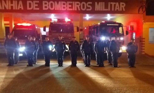 10 anos da morte de cinco bombeiros na  BR 282