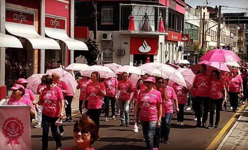 RFCC realiza a Caminhada Rosa nas cidades irmãs